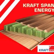 Сэндвич-панель энергосберегающая Kraft SPAN ENERGY. Кровельная фото