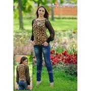 Блуза 1553 Жираф цвет фото