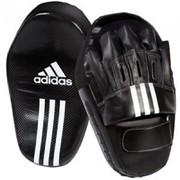 Изогнутые длинные боксерские лапы Adidas фото