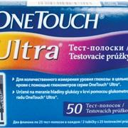 Тест-полоски ВанТач Ультра №50 (OneTouch Ultra ) фото