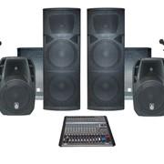Комплект звукового оборудования 5 кВт ( Аренда) фото