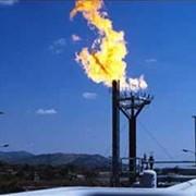 Добыча газа фотография