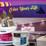 Краска интерьерная Biora Balance Teknos, Финляндия фото
