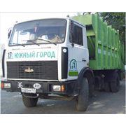 Вывоз крупногабаритного мусораблагоустройство территории фото