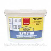 Герметик тепловлагоизоляционный, 15 кг. фото
