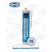 Герметик силиконовый Кестосил 79 синий пастель 310мл фото