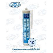 Герметик силиконовый Кестосил 42 сине-серый 310мл фото