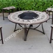 """Комплект Барбекю """"лоренцо"""", стол +4 стула фото"""