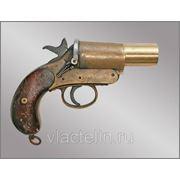 Пистолет сигнальный (ракетница), морской вариант. Начало-середина 20го века. фото