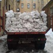 Очистка дорог от снега фото