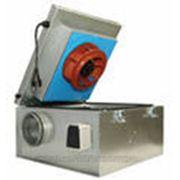 Systemair Канальный шумоизолированный вентилятор Systemair KVKE 160 EC Circular duct fan фото