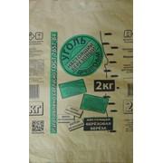 Мешок бумажный открытый (древесный уголь 2-2,5 кг)57×35×11 фото