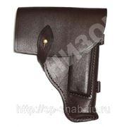 Кобура от пистолета ПМ кожаная фото