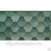 Гибкая черепица Катепал Jazzy Зеленый фото