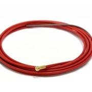 Изолированный стальной канал красный Ø 1.0-1.2mm, 4m фото