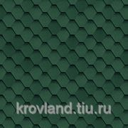 Черепица гибкая SHINGLAS Quadrille Sonata зеленая фото