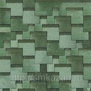 Гибкая черепица Шинглас Классик Кадриль Аккорд олива фото