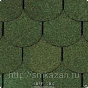 Гибкая черепица Shinglas Классик Танго Зеленый фото