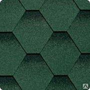 Гибкая черепица Shinglas Ультра Самба Зеленый фото