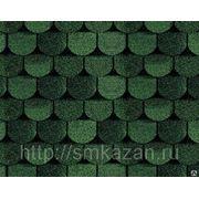 Гибкая черепица Tegola Антик Зеленый фото