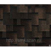 Гибкая черепица Tegola Альпин Черный с отливом фото