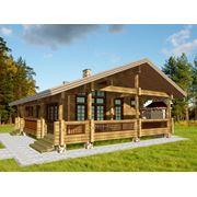 Дома из деревянного бруса фото