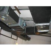 Монтаж вентиляции и систем кондиционирования фото