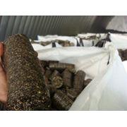 Топливные брикеты из лузги подсолнечника фото
