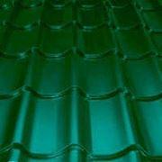 Металлочерепица зелёный мох 1180*3200*0,47 фото