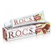 ROCS Teens зубная паста со вкусом колы и лимона для детей и подростков от 8 до 18 лет (74 гр) фото