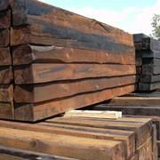 Шпалы деревянные пропитанные фото