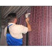 Химчистка портьер штор фото