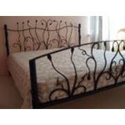 Кровать кованая фото