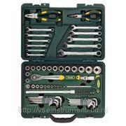 Набор слесарно-монтажных инструментов industry kraftool 27977-h84 фото