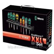 Набор отверток wera kraftform12 xxl set torx® + 2 racks we-051011 фото