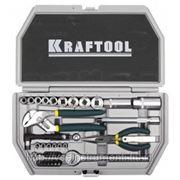 Набор слесарно-монтажных инструментов industry kraftool 27971-h38 фото