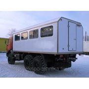 Вахтовый автобус фото