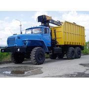 63771 Металловоз ( Ломовоз) на шасси Урал 4320 -1951-40 с КМУ фото