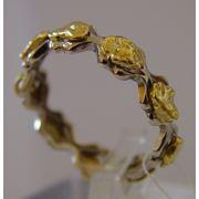 Ювелирные изделия с самородным золотом полудрагоценными камнями серебром и коллекционные самородки пробой не ниже 850 фото