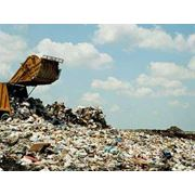 Захоронение бытовых отходов на полигоне фото