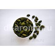 """""""Очищенные зелёные фисташки """". Категория S. Dark green peeled pistachios grade S. фото"""