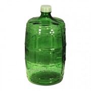 Стеклянная бутыль зелёное стекло 10 литров фото