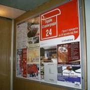 Услуги рекламные в лифтах фото