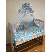 Комплект детского постельного белья к-06 МКР (7 предметов) фото