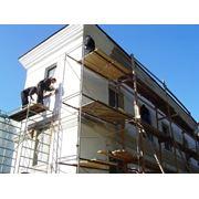 Установка и ремонт фасадов зданий