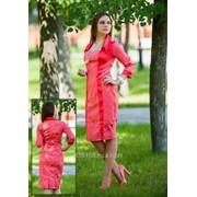 Платье 3414 Персик цвет фото