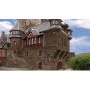 Отделка фасадов частных домов камнем фото
