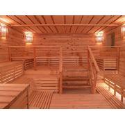 Установка деревянных бань под ключ