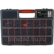 Ящик для инструментов FIT (органайзер) пластиковый (46x32x8 см) фото
