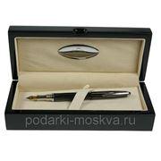 """Ручка перьевая """"LA GEER"""", стерлинговое серебро, шкатулка - дерево 50502-FP фото"""